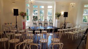 Boronia House ceremony room