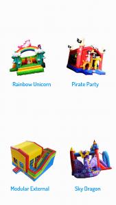 Bounce O Rama rainbow combo