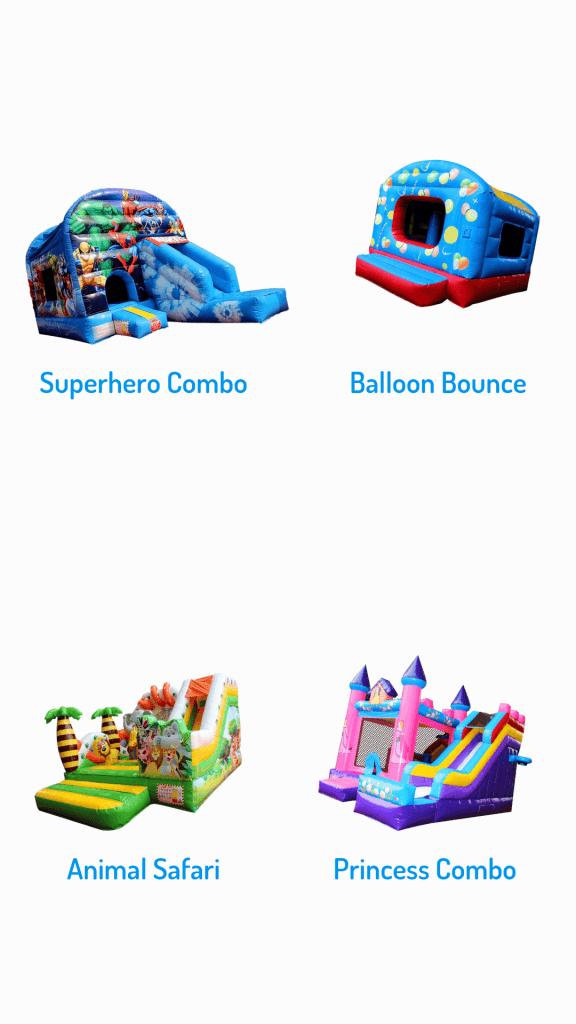 Bounce O Rama superhero combo