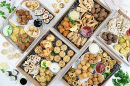 Flavours Catering fingerfood platters