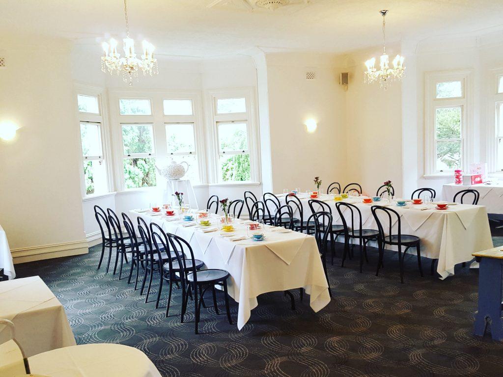 Boronia Room heritage room high tea