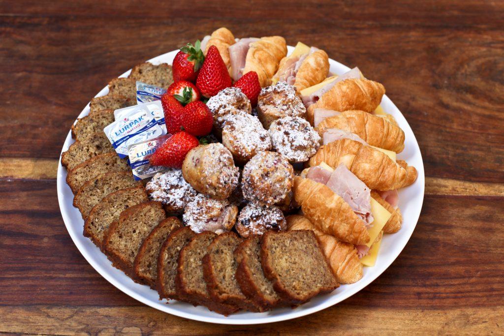 Barbettes Feast catering morning tea platter