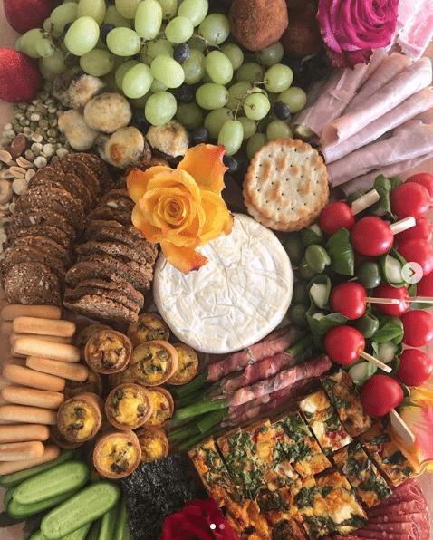 Barbettes Feast catering grazing board