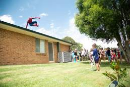 The Superhero Experience | Spiderman arrival