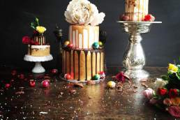Chaos and Couture Cakes drip cakes