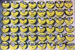 DevOm Eggless Cakes Minion cupcakes
