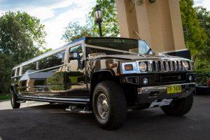 Illusion Limousines Sydney stretch hummer