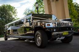 Illusion Limousines Sydney stretch hummer
