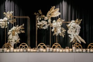 NPM Events Sydney flowers and candles