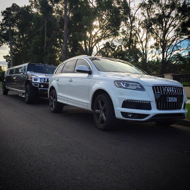 Illusion Limousines Sydney Audi