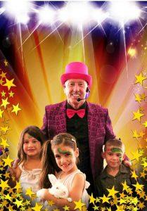 Tony's Magic Show lights and camera