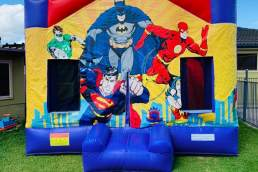 Austin Jumping Castles superheros