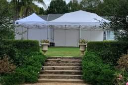 Wholly Party Co garden setup
