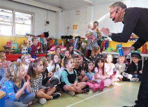Tony's Magic Show kindergarden show