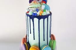 Black Velvet Sydney ninth birthday cake