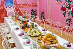 Oz Funland birthday table