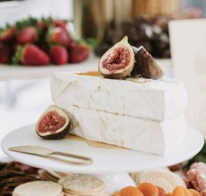 Amazing Grazing Co cheese and figs