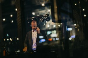 DJ James Cross Hayley Matts wedding
