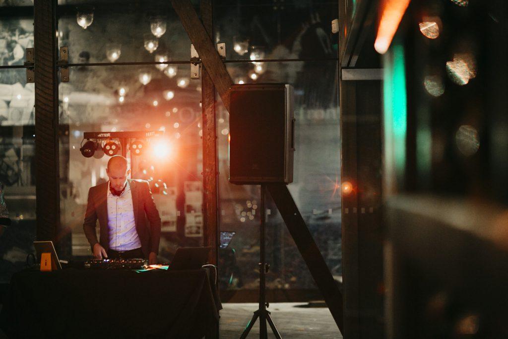 DJ James Cross Hayley Matts wedding long
