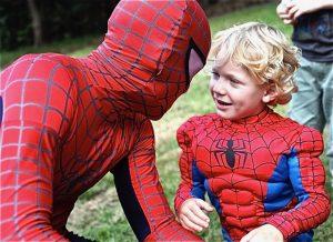 Kapow Parties Spiderman