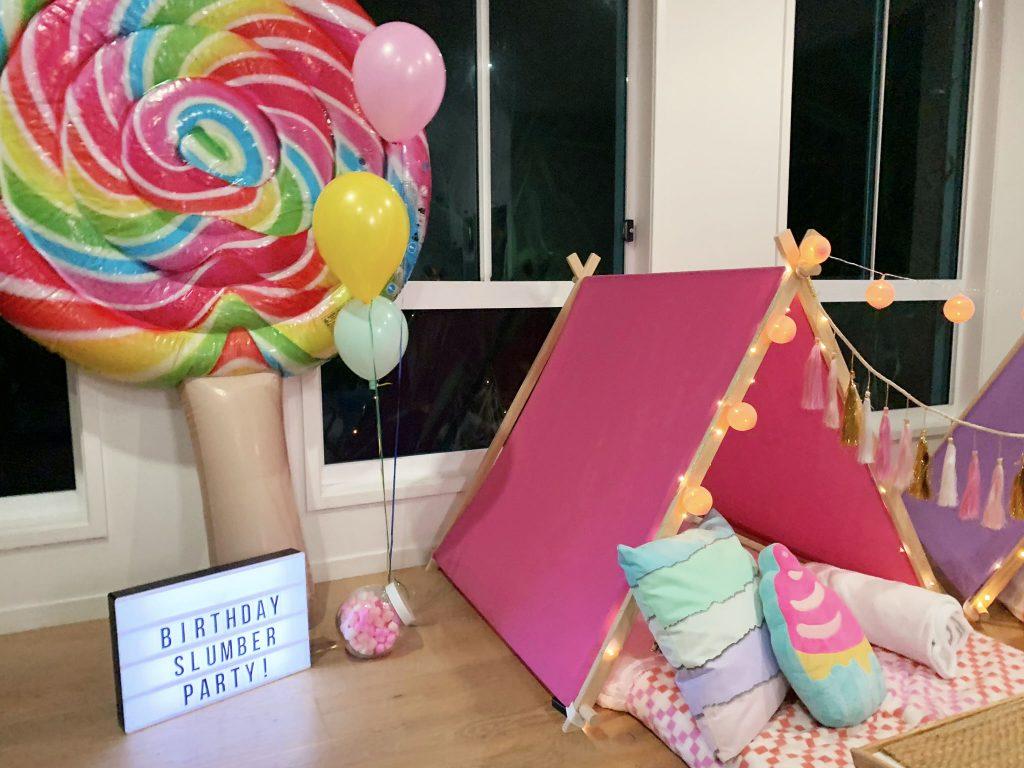 My Slumber Party Sydney sweet tooth theme
