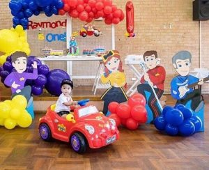 Tiny Tots Event Hire Wiggles party set up