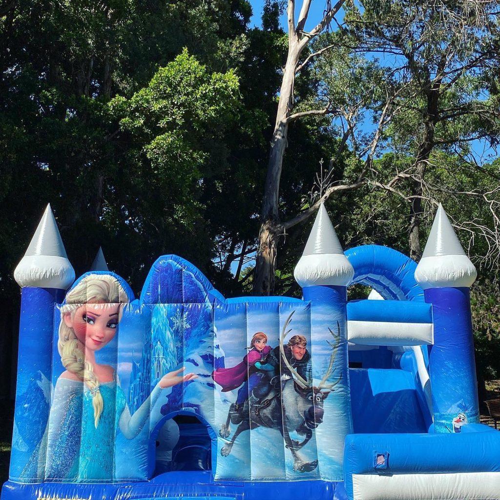 Bounce O Rama Frozen castle