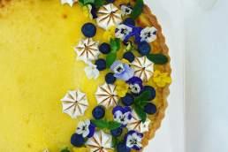 Forage Sydney floral tart