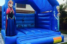 All Out Party Hire frozen jumping castle