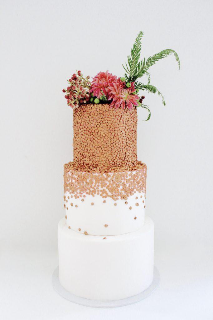 La Petite Tarte 3 tier confetti cake