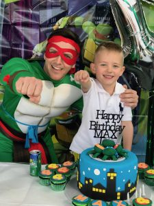 Kapow Parties Ninja Turtle