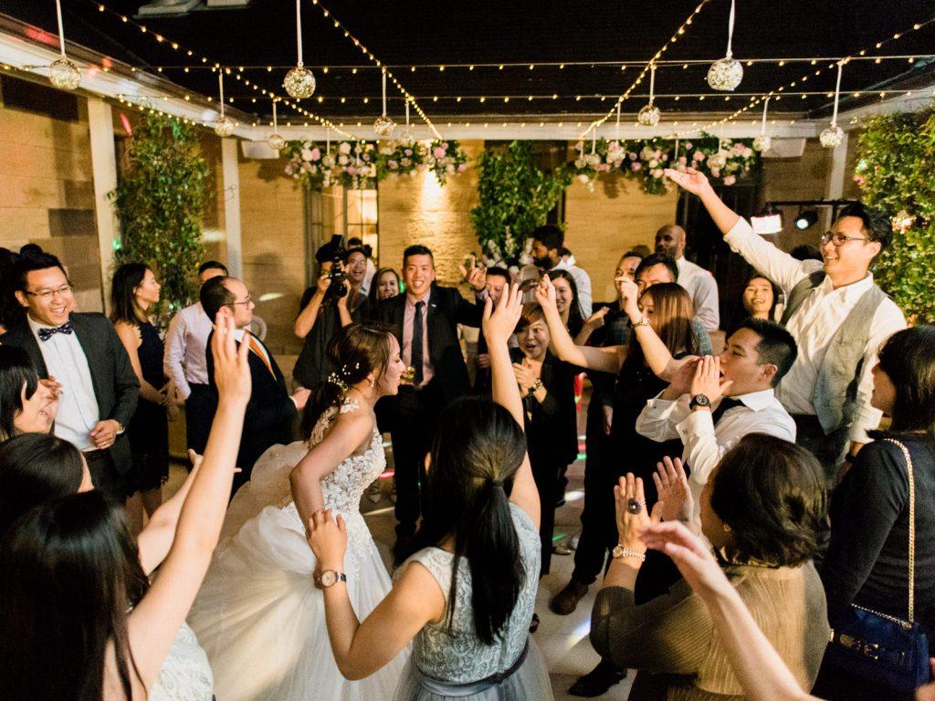 Impression DJs | Katherine & Kenneth wedding circle