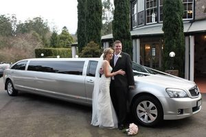 Limousine King Melbourne wedding couple