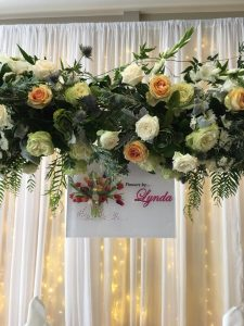 Flowers By Lynda roses arch