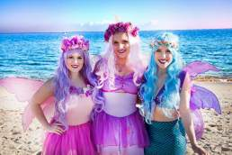 Little Wings Entertainment mermaids and fairies