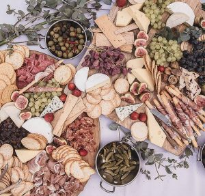 Shared Affair Catering cheese table