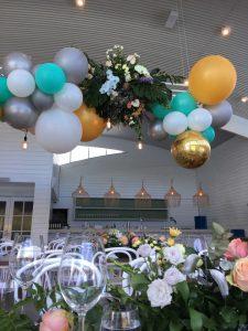 Flowers By Lynda hanging display