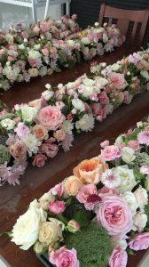 Flowers By Lynda table blooms