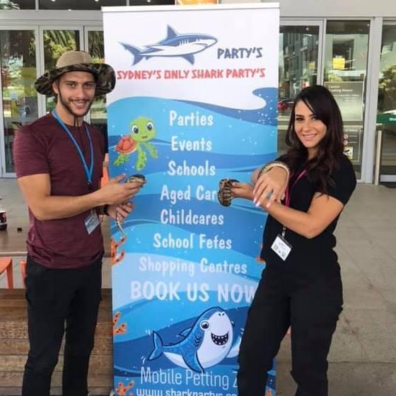 Shark Partys Sydney promotion