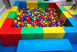 Playland Hire colourful ballpit
