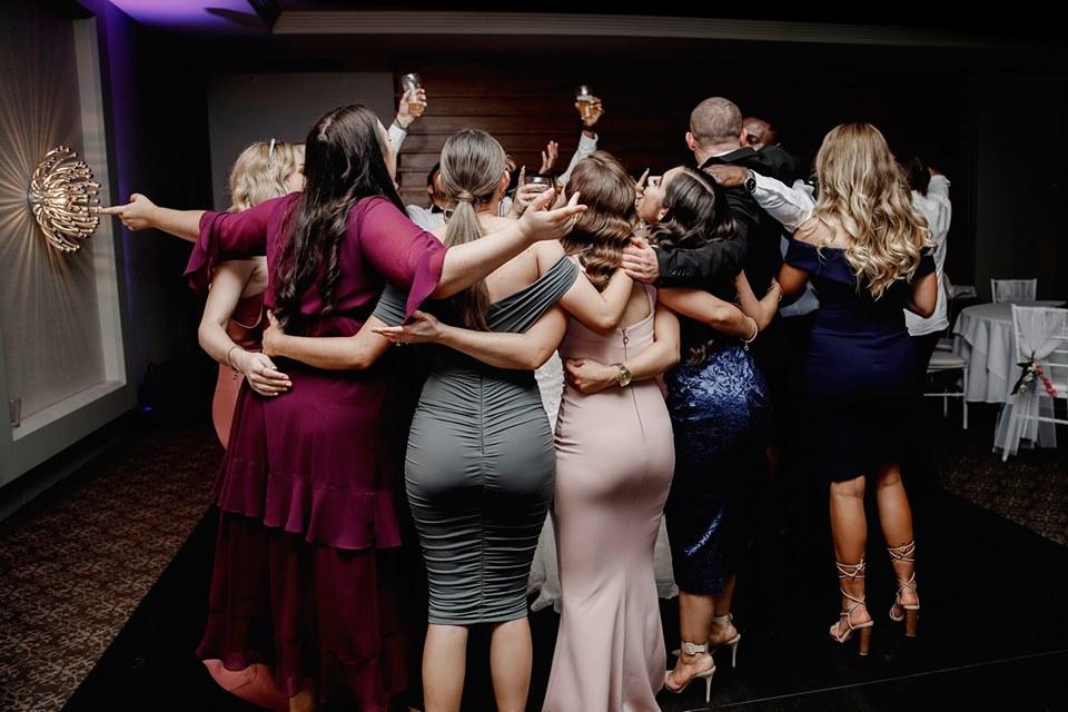 ProDiscos wedding dance circle