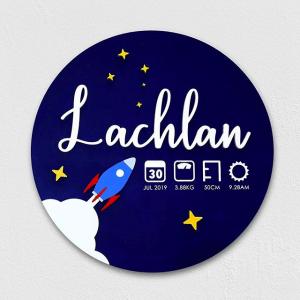 Little Big Workshop Lachlan birthday chart
