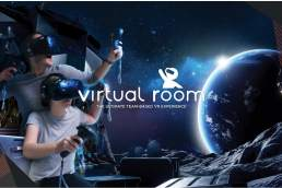 Virtual Room outerspace experience