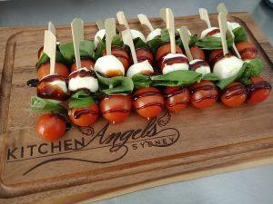 Kitchen Angels Sydney bocconcini ball sticks