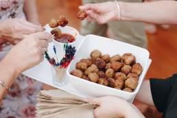 Helen's Catering meatballs