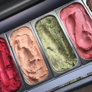 Pepita's Ice Cream Van tubs of yum