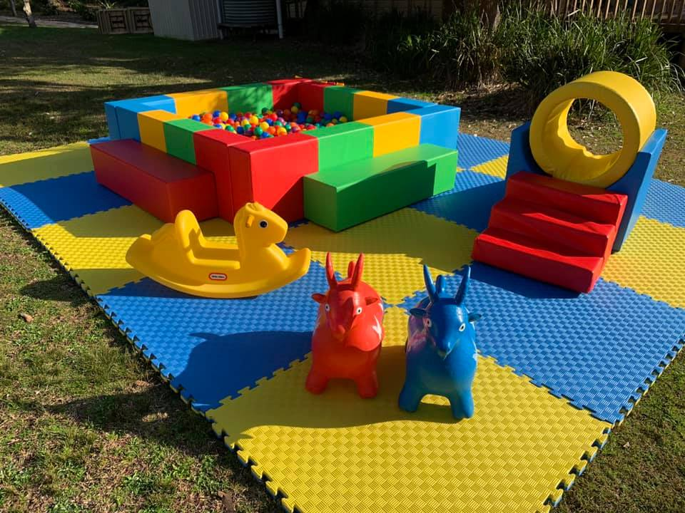 Playland Hire outdoor setup