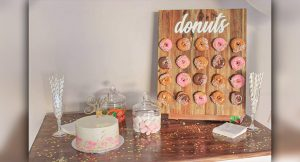 Perth Party Wall donuts and sweets