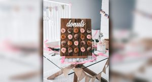 Perth Party Wall donut wall