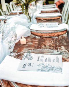 Arch Events Perth menus